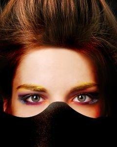 como elegir un color de sombra de ojos