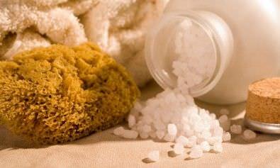como utilizar la sal como producto de belleza
