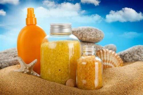 Exfoliador Marino para el Cuerpo- Con Sal del Mar y Minerales para una Piel Sana1